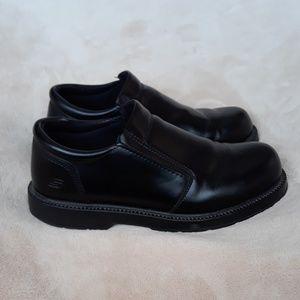 Skechers Black Slip Resistant Shoes